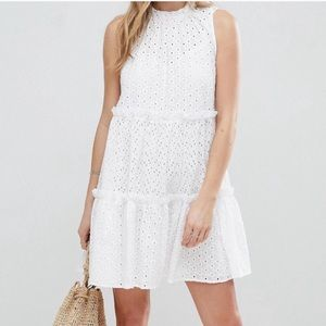 NWOT ASOS White Eyelet Dress